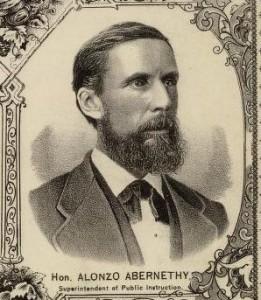 "Ancestorsatrest, ""Alonzo Abernethy."" Find A Grave. Last modified May 5, 2008. http://www.findagrave.com/cgi-bin/fg.cgi?page=gr&GRid=18342227"