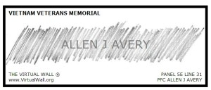 Allen James Avery Pencil Rubbing