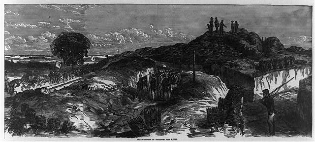 """The Surrender of Vicksburg, July 4, 1863"" Digital File from Original Print. Library of Congress Prints and Photographs Online Catalog. http://www.loc.gov/resource/cph.3b36376/ (accessed May 22, 2015)."