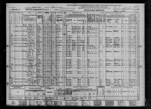 """1940 United States Federal Census,"" Sheet 11B, Family 479, Line 45, Black Hawk County, Iowa, 1940."