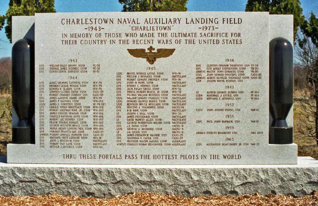 Charlestown Naval Auxiliary Landing Field Memorial